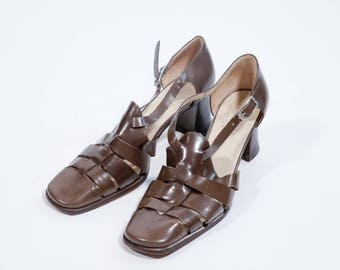 POLLINI - Leather sandals