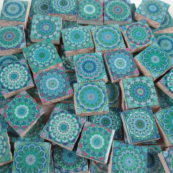Ceramic Mosaic Tiles Moroccan Tile Turquoise Blue Moroccan