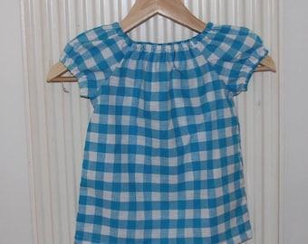 Checkered Summer Frock Dress