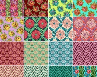 Sale Eternal Sunshine Collection Bundle by Amy Butler - Cotton Quilting Fabric - 16 Fabrics