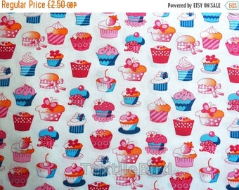 Cupcake little, pink-blue - long quarter