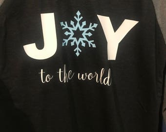 Graphic Tees! Joy to the World