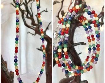 Chakra Necklace/Wrap Bracelet