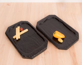 Handmade wooden food boards