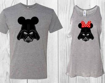 Star Wars Shirt Disney Cruise Shirts Couples Disney Shirts Disney Couples Shirts   Disney Shirts   Disney Couples Shirt Darth Vader