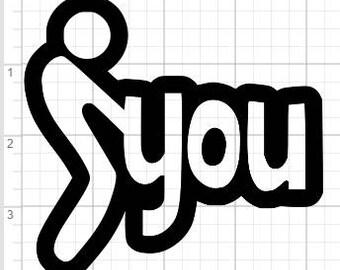 Screw You Design SVG PDF EPS Dxf & Studio 3 Cut Files
