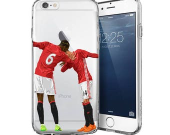 Dab Boys iPhone cases - Samsung Cases High Quality Football phone cases - Transparent cases - Dab phone case