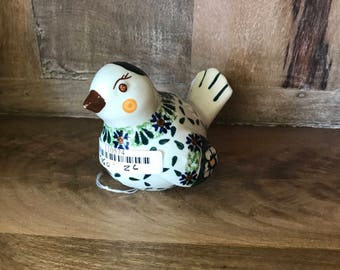 Polish Pottery Bird