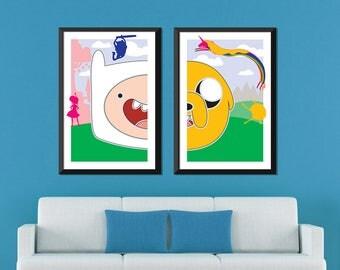 Adventure Time Minimalist: Finn and Jake Set