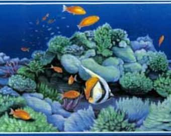 Sea World Wallpaper Border 72886 OA