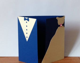 to offer newlyweds blue and ivory