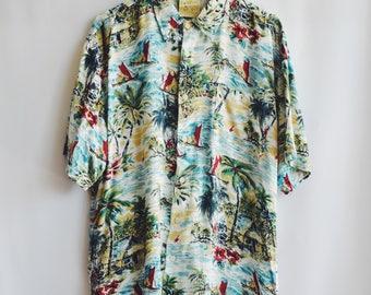 Shirt Vintage Hawaiiana Ocean