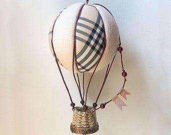 Hot air balloon model, Decorative Hot air balloons,  textile hot air balloon, Baby Hot Air Balloon Mobile