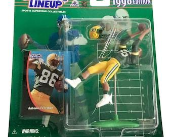 NFL Starting Lineup SLU Antonio Freeman Action Figure Green Bay Packers 1998