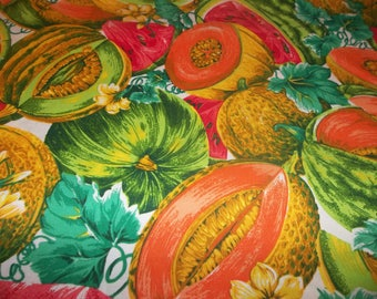 Tutti Fruity White 100% Cotton Fabric #106