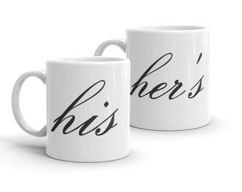 His and Her's Mugs [2 Mugs]