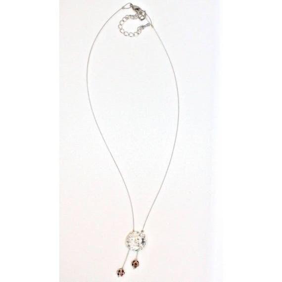 Necklace CABOCHON wedding glow necklace