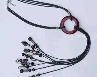 very special and extra long necklace