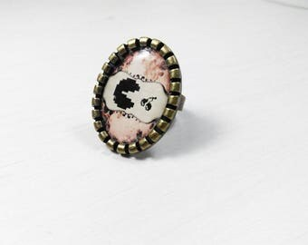 Geeky Gamer girl baroque By geeky ring don't rock
