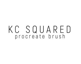 KCSquared Procreate Brush | Ipad Lettering | Handlettering | Brush Lettering | IPad Pro | Procreate | Calligraphy Brush |