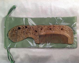 E0001- Wooden Comb
