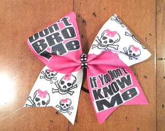 Ready to ship sublimated cheer bows