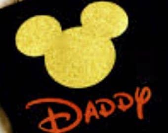 Disney Iron On Decal, Disney Vinyl Iron On, Disney World Family Shirts, Iron on Vinyl Disney Vinyl Shirt, Disney Heat Transfer
