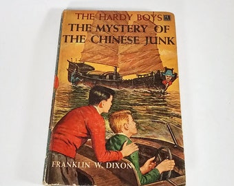 The Hardy Boys #39, The Mystery of the Chinese Junk by Franklin W. Dixon  Hardcover  1st Edition    Mystery/Adventure