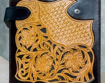 Leather long wallet sheridan style
