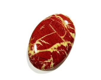 29Cts Rainbow Jasper Gemstone Oval Cabochon Gorgeous!!! Top AAA Quality Natural Rainbow Jasper Cabochon Stone For Jewelry Making 31X21X5mm