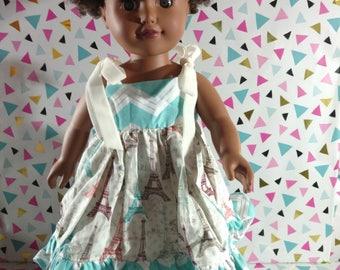 La Parie 18 inch doll dress