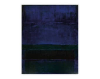 Mark Rothko Blue, Green and Brown