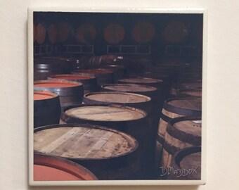 Bourbon Barrels Coaster