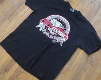 Sturgis 59th annual 1999 bike rally / South Dakota Tshirt , adult size large