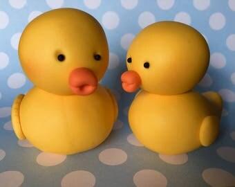 Duck cake topper Etsy