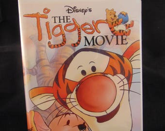 Vintage Disney The Tigger Movie VHS
