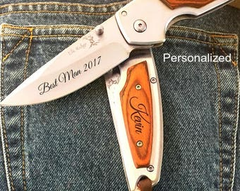 Best man gift • best man groom gift • best man gift ideas • personalized pocket knife • personalized best man gift • groomsmen gift ideas
