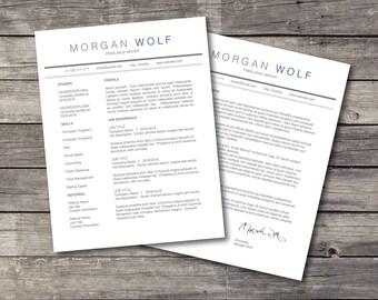 Basic Resume, Professional Resume, Resume Template, Modern Resume, Creative Resume,Cover Letter,Resume Template Word,Resume Design,CV Design