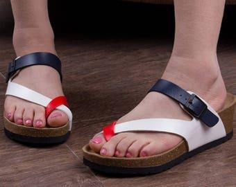 Fashion Cork Wedge Sandals