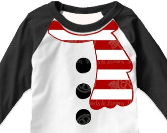 snowman svg, Snowman shirt, Christmas svg, iron on printable, kids christmas svg, ugly christmas, sweater, shirt, scarf SVG, DXF, EPS, elf