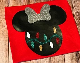 Disney Christmas Lights Tee