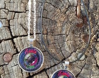 Santa Cam necklace