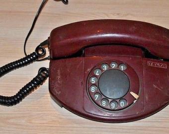 Vintage telephone. USSR. Telta