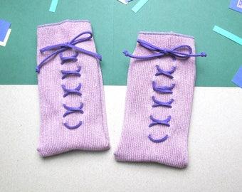 RakuTimesha / XX Socks / Grayish Pink