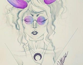 Mystical lady