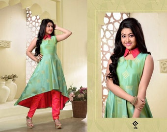 Indian kid salwar suit/ readymade/kidswear/party wear/wedding wear/kurta pajama suit/new style/size 36