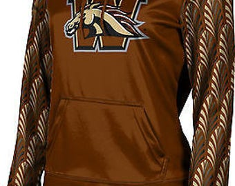 ProSphere Women's Western Michigan University Deco Pullover Hoodie (WMU)