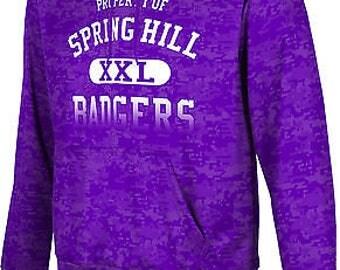 ProSphere Men's Spring Hill College Digital Pullover Hoodie (SHC)