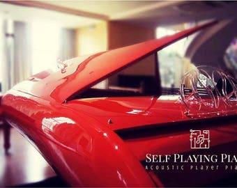 self playing steinbecker supercar grand piano
