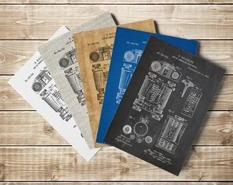 Hollerith Machine, Computer Poster, Hollerith Poster, First Computer, Eek Patent, Geek Poster, Statistics, Nerd Poster,Art, INSTANT DOWNLOAD
